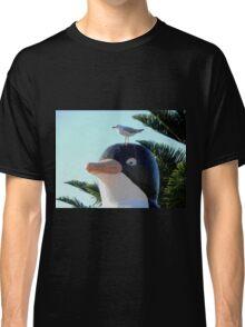 Startled Penguin, Penguin, Tasmania, Australia. Classic T-Shirt