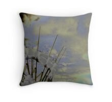 Kinetic Energy Throw Pillow