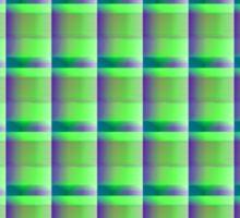 neonflash abstract art pattern fabrics Sticker