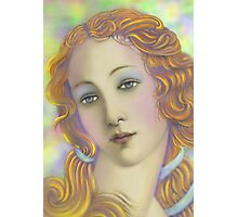 'Beautiful' Face #1, Three Faces of a Modern Day American Venus Photographic Print