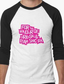 For the Honour of Greyskull Men's Baseball ¾ T-Shirt