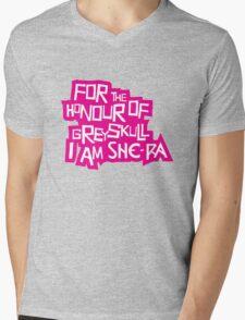 For the Honour of Greyskull Mens V-Neck T-Shirt