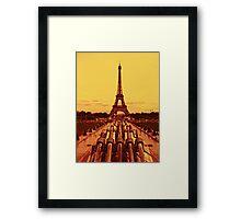 Paris - The Eiffel Tower Framed Print