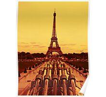 Paris - The Eiffel Tower Poster