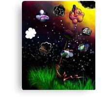 Third Eye Candy Canvas Print
