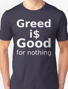 Good For Nothing - White Lettering, Funny T-Shirt