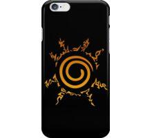 Naruto Kyuubi Seal (Orange Gradient) iPhone Case/Skin