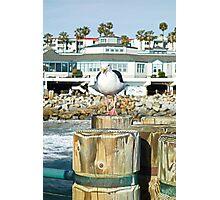 Redondo Beach Pier with Attitude  Photographic Print
