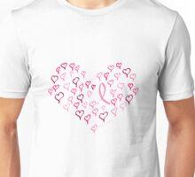Ribbon Heart Unisex T-Shirt