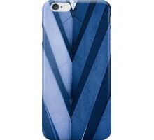 Abstract Architecture in Blue II iPhone Case/Skin