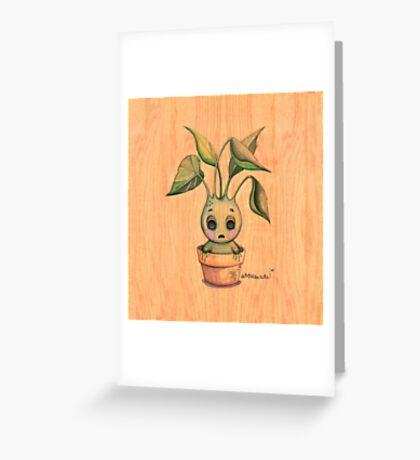 Baby Mandrake Greeting Card