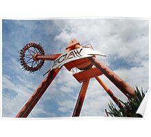 The CLAW Ride, Dreamworld Queensland, Australia Poster
