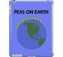 Peas On Earth iPad Case/Skin