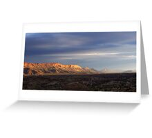 West Macdonnell Ranges Greeting Card