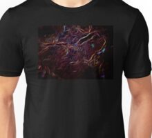 neonflash abstract art fabrics Electric Fiber Unisex T-Shirt