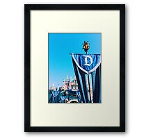 Sleeping Beauty's Castle #2 Framed Print