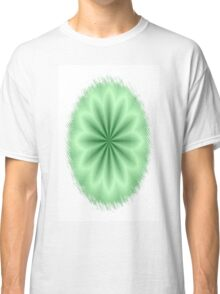 Green Abstract Star Classic T-Shirt
