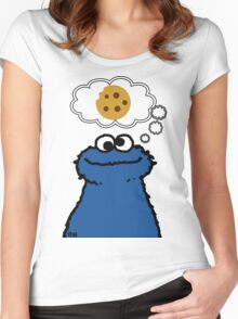 Cookies On My Mind Women's Fitted Scoop T-Shirt