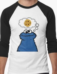 Cookies On My Mind Men's Baseball ¾ T-Shirt