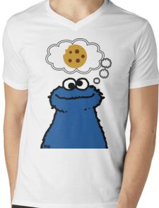 Cookies On My Mind Mens V-Neck T-Shirt