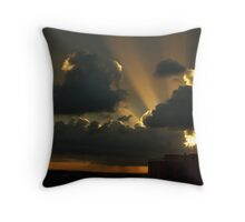 sun-rays - sydney Throw Pillow