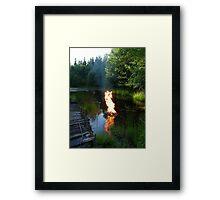 Air Water Earth & Fire Framed Print