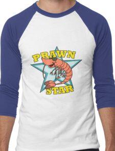 Prawn Star Men's Baseball ¾ T-Shirt