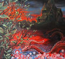 Serpent Lagoon by Chancey  Hall