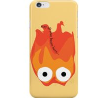 Calcifer's Curse Variant iPhone Case/Skin