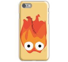 Calcifer's Curse Variant iPhone Case/Skin