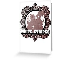 The White Stripes Greeting Card