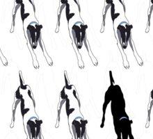 Downward Dog Downward Dog Downward Dog Sticker