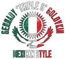 Gennady Golovkin - Mexican Style by liam175
