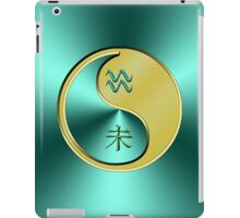 Aquarius & Goat Yin Metal iPad Case/Skin