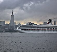 Cruise ship Triumph makes her triumphant return to New York by pmarella