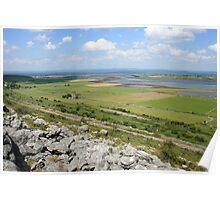 Beautiful Burren view Poster
