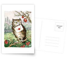 Owl Post Postcards