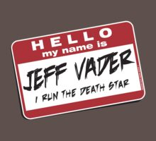 I'm Jeff Vader T-shirt One Piece - Short Sleeve