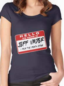 I'm Jeff Vader T-shirt Women's Fitted Scoop T-Shirt