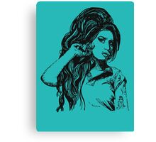 Icon: Amy Winehouse Canvas Print