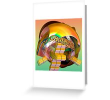 Walking the stairs higher and higher, Greeting Card