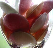 Sweeties in a Glass by Lynn Ede