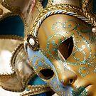 Venetian Mask by Pamela Maxwell