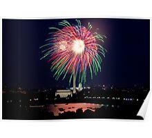 Washington D.C., Fourth of July Fireworks Poster