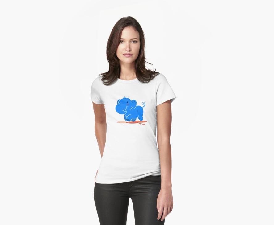 I mah blue elephant by lemwell