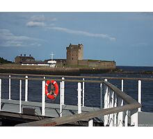 Broughty Ferry Castle Photographic Print
