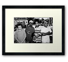 Tough Guys Framed Print