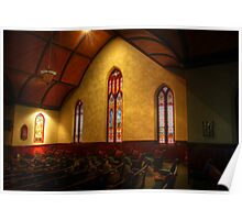 Stain Glass Windows Poster