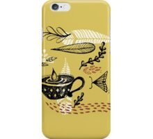 the cup and the moth iPhone Case/Skin