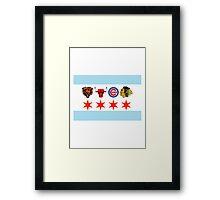 Chicago Sports 2 Framed Print